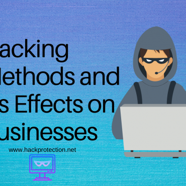 Hacking Methods and its Effects on Businesses