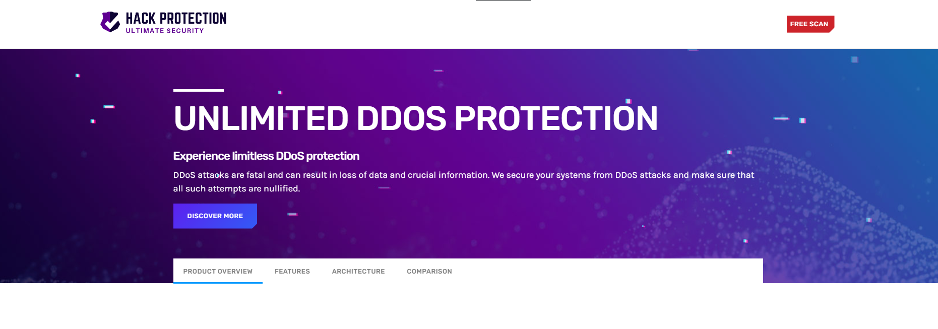 DDoS Protection Hack Protection