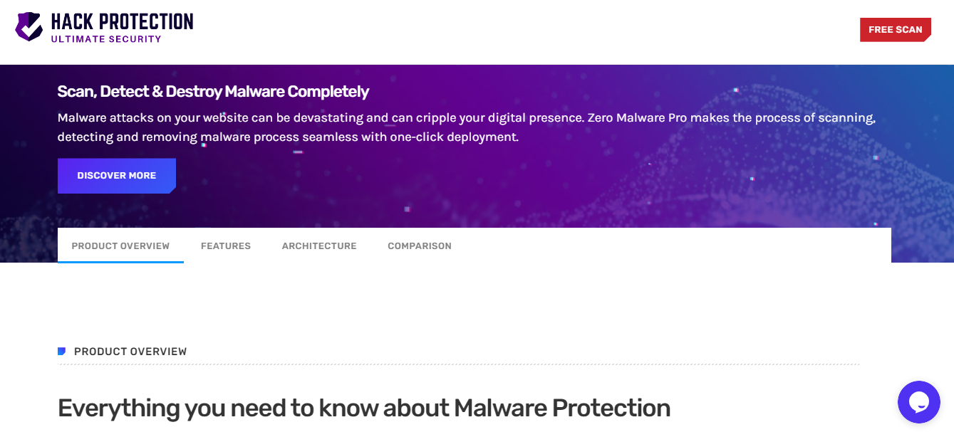 Malware removal-Hack protection