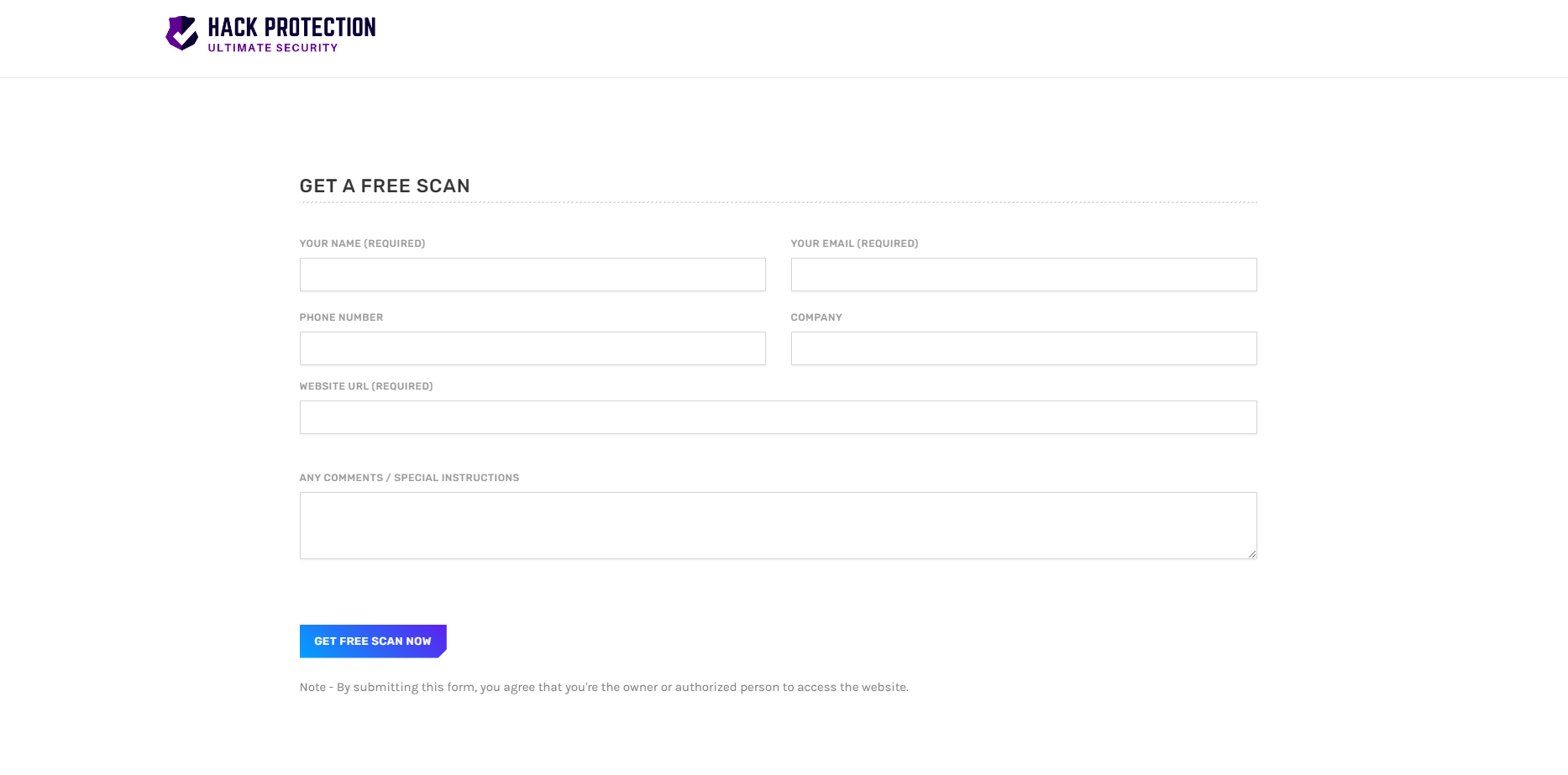 hack protection free scan